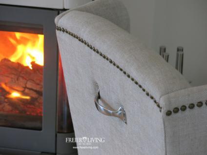 Chesterfild Sessel als Esszimmerstuhl Stuhl Maison Home Interieur - Vorschau 3
