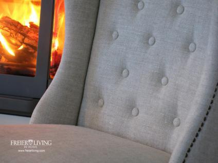 Chesterfild Sessel als Esszimmerstuhl Stuhl Maison Home Interieur - Vorschau 4
