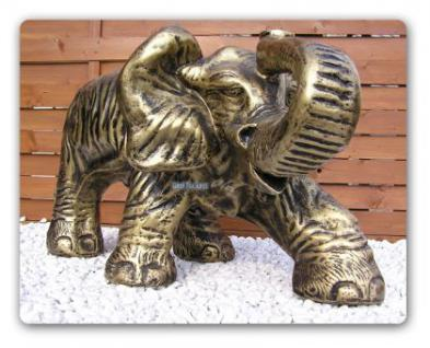 Elefant Afrika Figur Wonzimmertisch Couchtisch