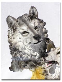 Wolf als Büste und Dekofigur - Vorschau 2