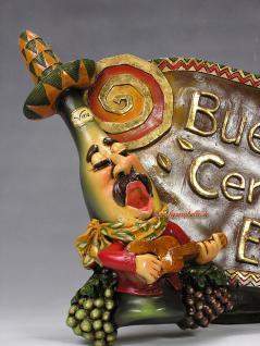 Mexikaner Flasche Figur Schild Mexiko Sombrero Deko Dekoration - Vorschau 2