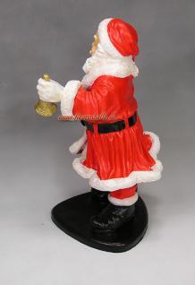 Weihnachtsmann Figur Gartenfigur Weihnachts Deko - Vorschau 5