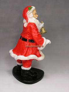 Weihnachtsmann Figur Gartenfigur Weihnachts Deko - Vorschau 4