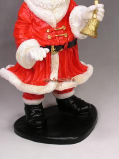 Weihnachtsmann Figur Gartenfigur Weihnachts Deko - Vorschau 3