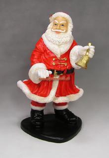 Weihnachtsmann Figur Gartenfigur Weihnachts Deko