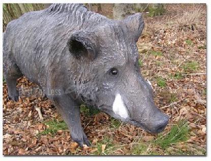Wildschwein als Dekofigur Aufstellfigur - Vorschau 2
