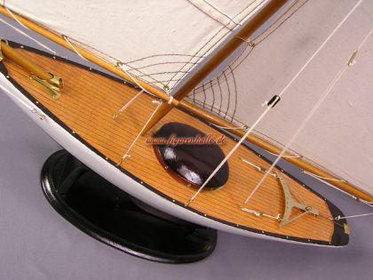 Bermuda Segelyacht Modell Segelschiff Yacht Deko - Vorschau 2