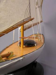 Bermuda Segelyacht Modell Segelschiff Yacht Deko - Vorschau 5