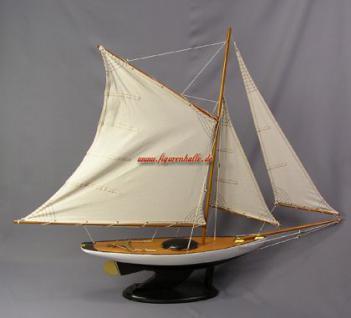Bermuda Segelyacht Modell Segelschiff Yacht Deko - Vorschau 4