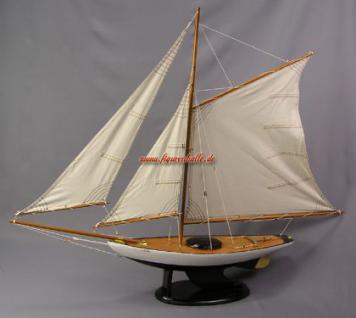 Bermuda Segelyacht Modell Segelschiff Yacht Deko - Vorschau 1