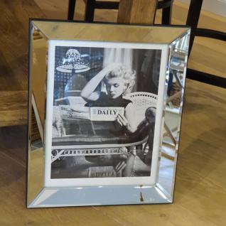 Marilyn Monroe Wandbild Kunstdruck in Rahmen Daily