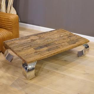Treibholz Couchtisch Schwemmholz Tisch Massivholz Wohnzimmertisch Möbel 140