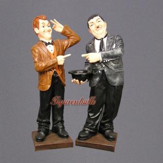 Dick und Doof Stan Laurel Oliver Hardy Dekofigur - Vorschau 1
