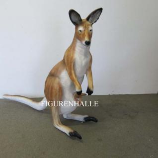 Känguru Werbefigur Tierfigur groß Aufstellfigur Figur Deko