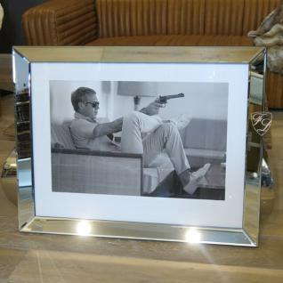 Steve McQueen Wandbild Kunstdruck mit Rahmen Deko