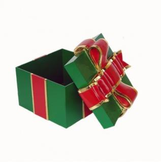 Geschenk Grün Weihnachts Dekoration Deko