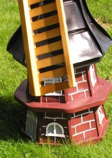 Windmühle Holländische Gartenfigur Garten-Deko - Vorschau 4