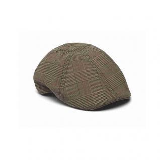 Schirmmütze Gr. 59 Ducky Cap Kappe Hut mit Rautenmuster