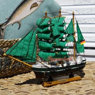Alexander von Humboldt Segelschiffmodell Modell Holz Schiff - Vorschau 5