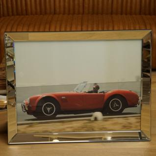 Steve McQueen Wandbild Kunstdruck in Car Cobra