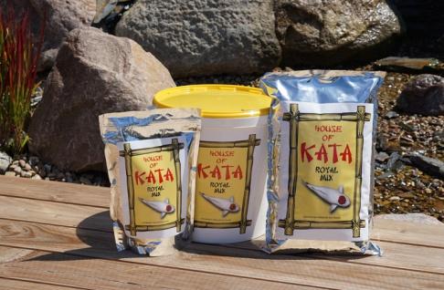 2, 5 ltr Koi Futter Royal Mix House of Kata Premium Koifutter Fischfutter Ausgewogenes - Vorschau 2