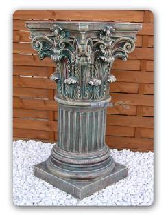Säule Dekosäule Dekoration Antik Optik Deko Stuck