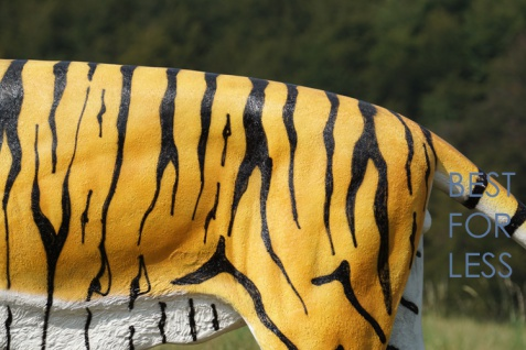 Tiger Dekofigur Lebensgroß Tiga Aufstellfigur - Vorschau 3