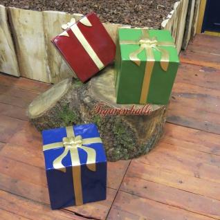 Winter Geschenkpaket Paket Dekomaterial Weihnachten Weihnacht Deko - Vorschau 2