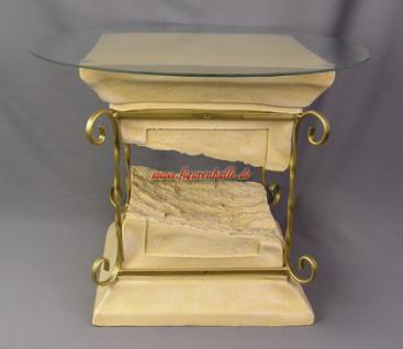 Tisch Säule Römische Grichische Couchtisch Deko