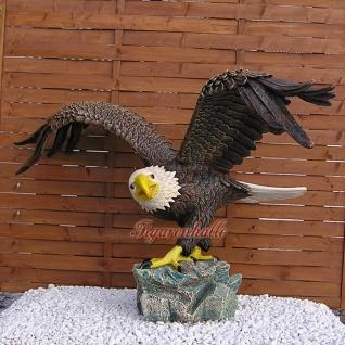 Weißkopf Adler Seeadler Figur Statue Aufstellfigur