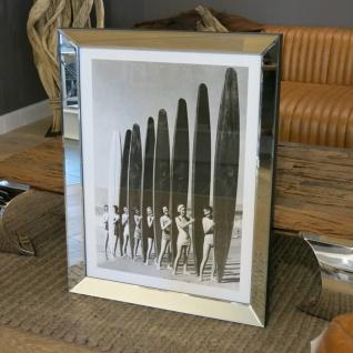 Wandbild Surfer Style als Spiegelrahmen