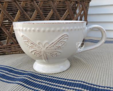 Milchkaffee Tasse Becher weiß Kaffee Tee