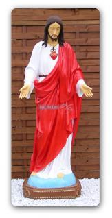 Herz Jesus Christus Figur Statue Aufstellfigur