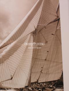 Maritimer Kunstdruck Spiegel Bilderrahmen mit Segelschiff - Vorschau 2
