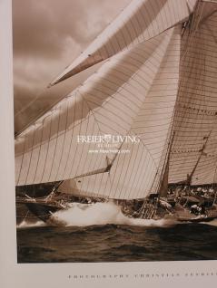 Maritimer Kunstdruck Spiegel Bilderrahmen mit Segelschiff - Vorschau 4