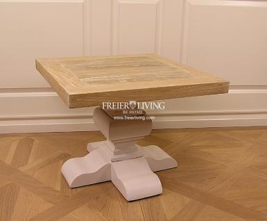 Massivholz Beistelltisch Tisch Landhausstil Couchtisch Shabby Chic