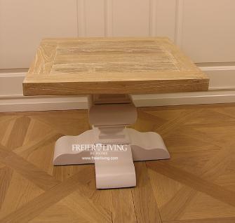 Massivholz Beistelltisch Tisch Landhausstil Couchtisch Shabby Chic - Vorschau 2