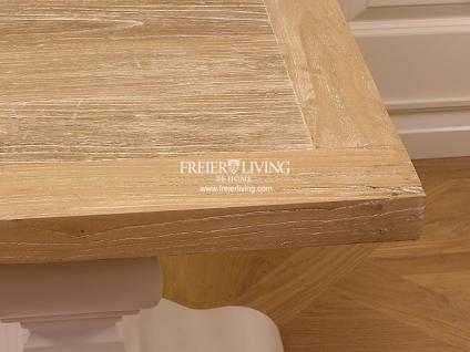 Massivholz Beistelltisch Tisch Landhausstil Couchtisch Shabby Chic - Vorschau 4