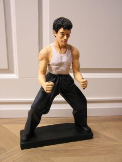 Karate Karatekämpfer Figur Statue Deko Bruce