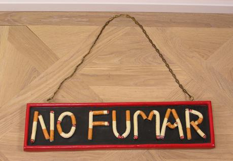 No Fumar Schild Deko nicht Rauchen No Smoking Spanisch - Vorschau 1
