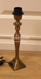 Tischleuchte Tischlampe Deko bronze Antik Optik Art Deco