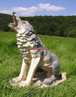 Wolf Dekofigur Figur Country Western Dekoration