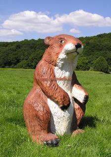 Präriehund 'Figur Statue Werbung Werbefigur Zoo Deko