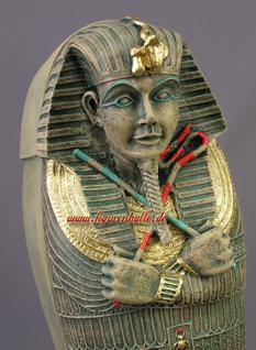Ägyptischer Sarkophag als CD Pharaoh Tutankhamun Schrank Figur Statue - Vorschau 2