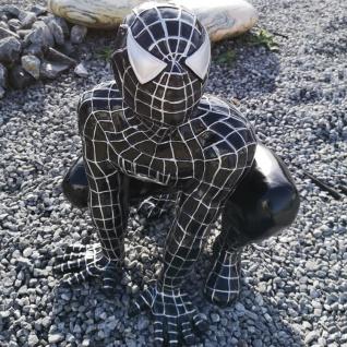 Spidermann Figur Spinnenmann Statue Skulptur FILM DVD schwarz