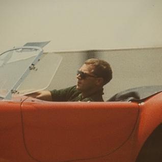 Steve McQueen Wandbild Kunstdruck in Car Cobra - Vorschau 2