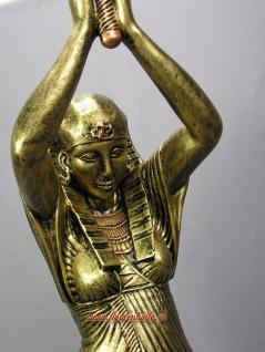 Ägyptische Leuchte Leuchter Ägypten Figur Statue