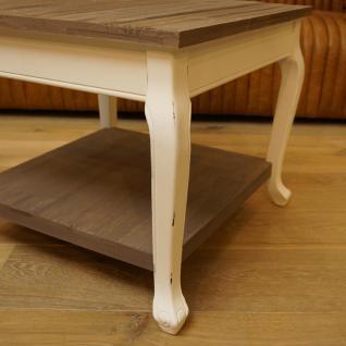 Wohnzimmertisch Beistelltisch Holz Shabby Chic Vintage Home Interiors - Vorschau 4