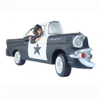 Blues Brothers Car Auto Wanddeko Deko Figuren Lebensgroß