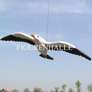 Möwe Fligend Dekofigur Figur Maritime Deko - Vorschau 4